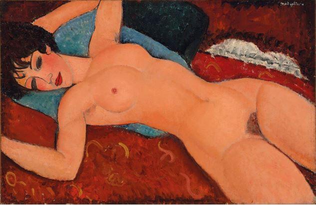 Nu Couche Modigliani