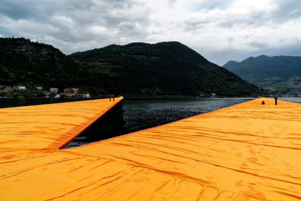 Floating Piers, Christo, Italy