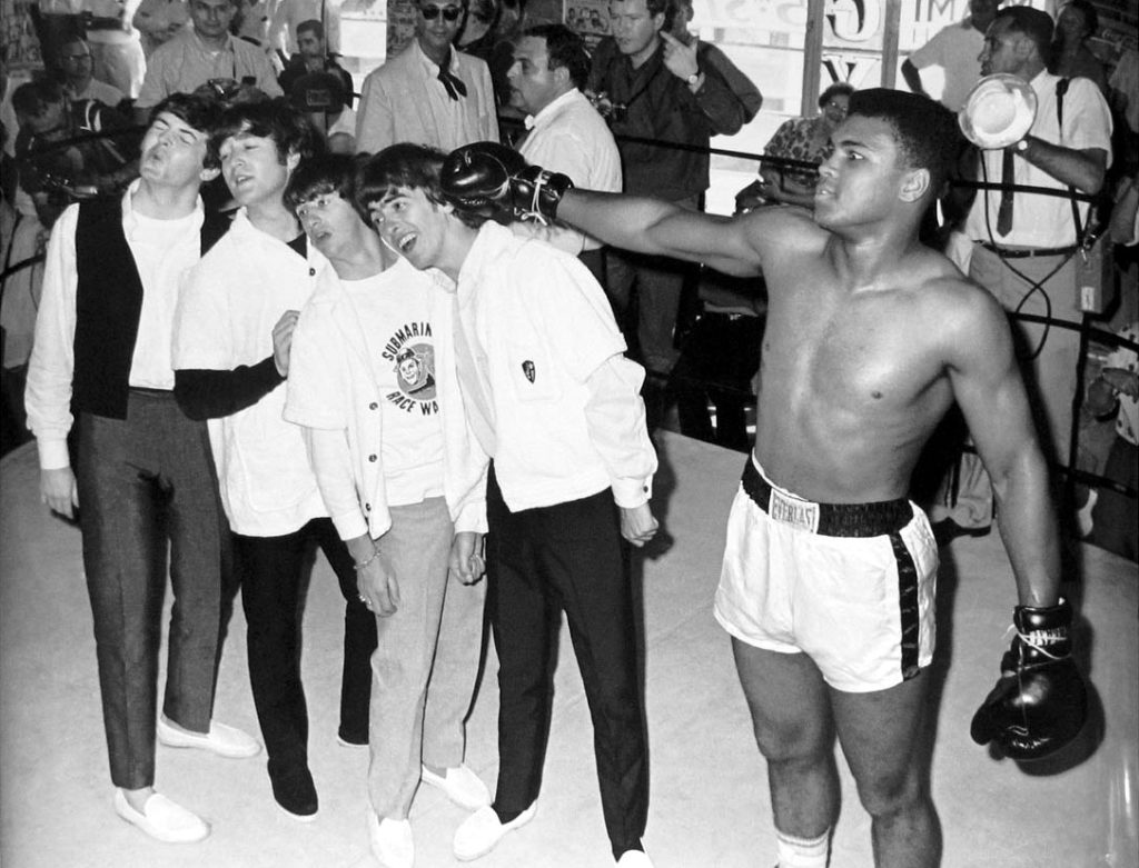 Muhammad Ali with the Beatles