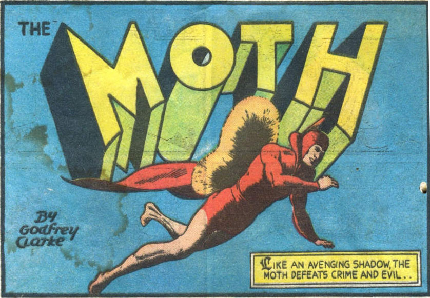 The Moth Superhero