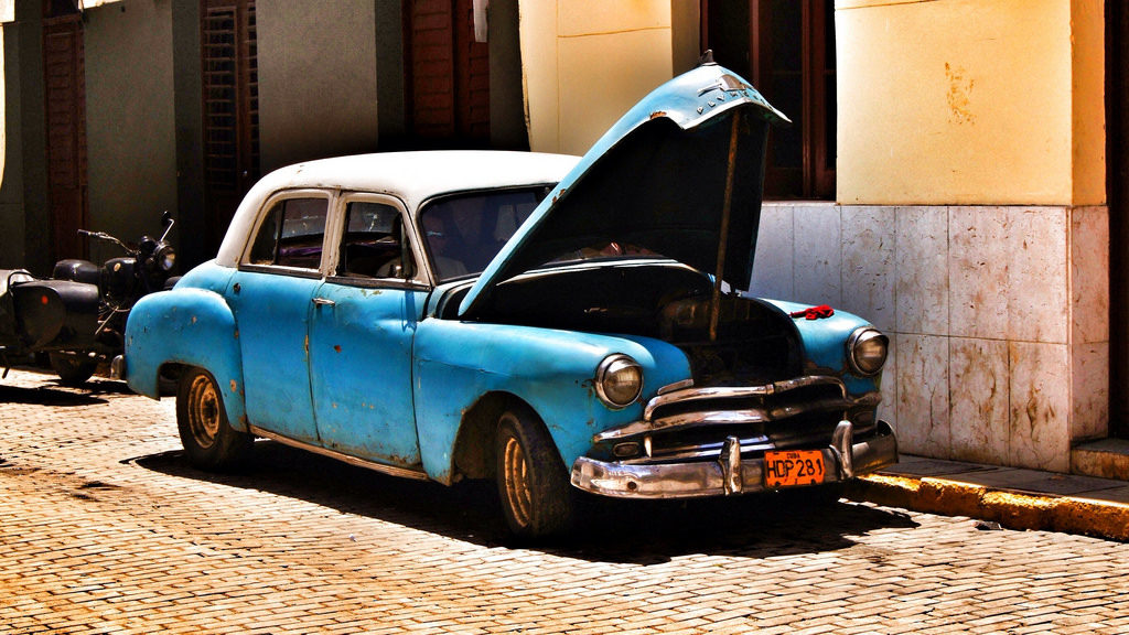cuban care broken down havana